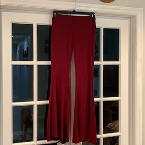 F21 // bell bottom boho pants // medium